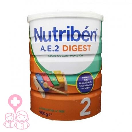 Nutribén AE Digest 2 leche infantil para problemas digestivos 800 gr