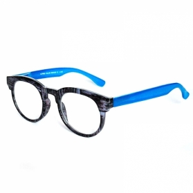 Farmamoda Gafa de Presbicia 1ª calidad +2,5 Dioptrías modelo HD-1761 JELLY BLUE