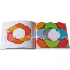 Haba Lunas de Colores juego de composición REF 301395
