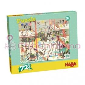 Haba puzzle Escuela de Magos REF 301979