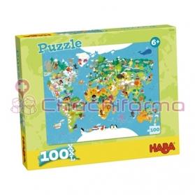 Haba puzzle Mapamundi REF...