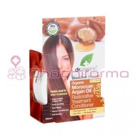Dr.Organic Moroccan Argan Oil tratamiento restaurador cabellos dañados 200ML