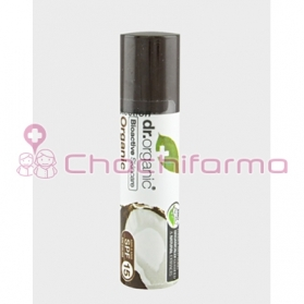 Dr Organic Virgin Coconut Oil bálsamo labial hidratante 5,7 ml