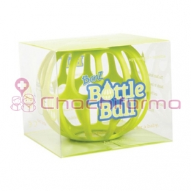 BOTTLE BALL SILICONA PARA BIBERÓN VERDE
