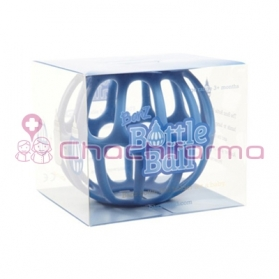 BOTTLE BALL SILICONA PARA BIBERÓN AZUL