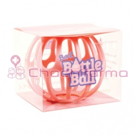BOTTLE BALL SILICONA PARA BIBERÓN ROSA