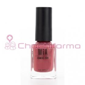 Mia Cosmetics esmalte de uñas tono Cherrywood 11 ml fórmula 9-Free