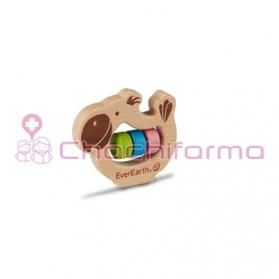 EverEarth juguete ecológico Sonajero Loro ref/33673