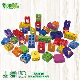 BioBuddy bloques de construcción BIO aprendiendo a contruir 40 piezas BB0011