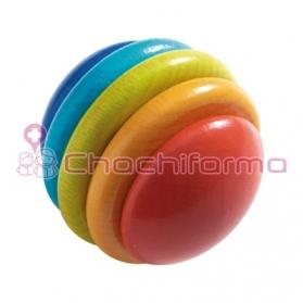 Haba Bola Arcoiris juego para encajar REF 301982