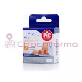 PIC CLASSIC FIX ESPARADRAPO TEJIDO COLOR PIEL 5 M X 5 CM