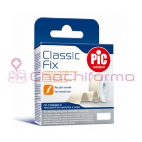 PIC Classic Fix esparadrapo de tela blanco 5M x 5 cm