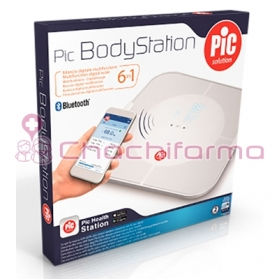 PIC BodyStation báscula digital multifunción IMC y grasa corporal programable