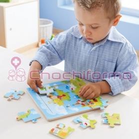 Haba Puzzle con marco de...