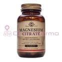 Solgar citrato de magnesio 60 comprimidos