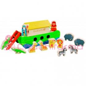 EverEarth juguete ecológico Arca de Noé pequeña ref/33287