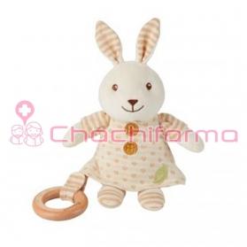EverEarth juguete ecológico peluche Conejito con Pijama ref/33695