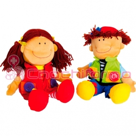 Legler muñecas nicoletta y david ref. 5506
