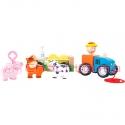 Legler Tractor de madera y...