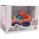 Legler juego de construcción Coche Policía REF 6826