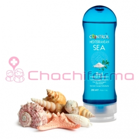 Control Mediterranean Sea 2 in 1 massage & pleasure gel 200 ml