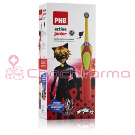 PHB Lady Bug Active Junior cepillo eléctrico recargable rojo