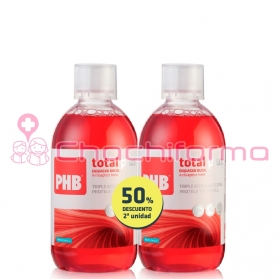 Phb total plus enjuague bucal duplo 500 ml + 500 ml