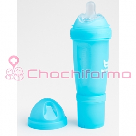 Herobility biberón azul 240 ml
