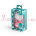 Herobility chupete +0M rosa y blanco 2 unidades