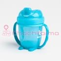 Herobility Herosippy taza de aprendizaje color azul 140 ml