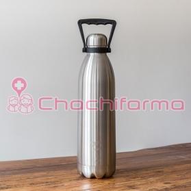 Chilly´s Botella termo de acero inoxidable ACERO 1,8 LITROS