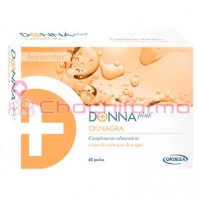 Donnaplus+ oilnagra aceite de onagra 60 perlas