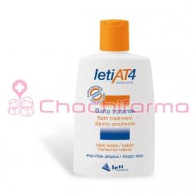Leti AT4  baño tratante calmante para piel atópica 200 ml
