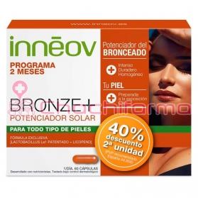 Inneov bronze + potenciador solar duplo 2x30 cápsulas 40% de descuento