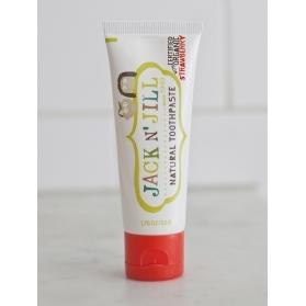 Jack N´Jill pasta de dientes BIO con Xylitol sabor fresa 50 gr