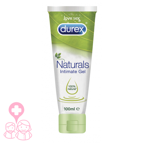 Durex Naturals Intimate gel 100 ml 100% natural
