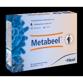 Metabeel probiótico sistema metabólico 30 cápsulas