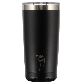 Chilly´s tumbler vaso de acero inoxidable negro 500ml