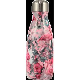 Chilly´s Botella termo de acero inoxidable Tropical Flamingo 260ml