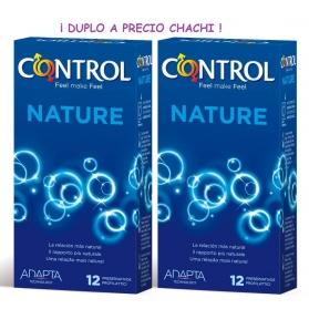 Control Adapta Nature preservativos pack megaprecio 2x12 preservativos
