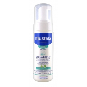 Mustela stelatopia champú mousse 150 ml