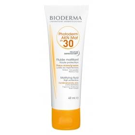 Bioderma Photoderm AKN MAT SPF 30 crema matificante 40 ml