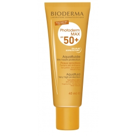 Bioderma Photoderm Max Aquafluide SPF50+ fluido protector piel sensible 40ml