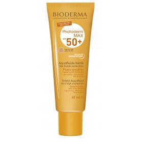 Bioderma Photoderm Max Aquafluide SPF50+ tono claro 40 ml