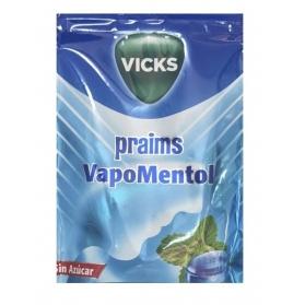 Vicks Praims caramelos doble acción mentol sin azúcar bolsa 72g