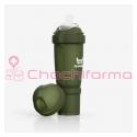 Herobility biberón verde oliva 240ml