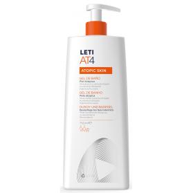 Leti AT4 gel de baño dermograso para piel atópica 750 ml