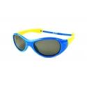 Farmamoda gafa de sol infantil polarizada ref s8109 azul claro amarillo