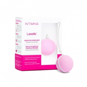 Intimina Laselle - Ejercitadores de Kegel 28g 100% silicona