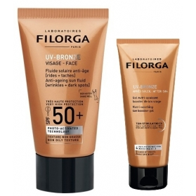 Filorga pack UV-bronze fluido solar antiedad SPF 50 40 ml + UV-bronze after sun 50 ml